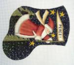 LK-07 Peace Santa 5 ½ x 6 ½ 18 Mesh LAURIE KORSGADEN