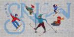 MMW-67 Snow Sports 14 x 8 13 Mesh MARY MARGARET WALDOCK