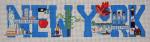 MMW-23 New York 19 x 6 18 Mesh MARY MARGARET WALDOCK