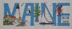 MMW-54 Maine 16 x 6 ½ 13 Mesh MARY MARGARET WALDOCK