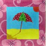 SP-11 Beach Umbrella 6 x 6 13 Mesh SAPNA