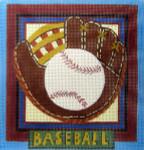 SP-07 Baseball 8 x 8 13 Mesh SAPNA