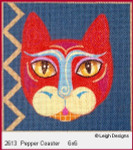 2613 Leigh Designs Pepper 18 Count Canvas