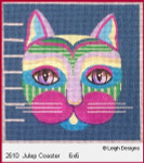 2610 Leigh Designs Julep 18 Count Canvas