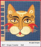 2611 Leigh Designs Ginger 18 Count Canvas