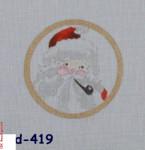 CBK Bettieray Designs CD-419 Santa Face Mesh 18 4.5 Rnd.