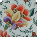 """PF-1536 Velvet Jacobean 18 Mesh 12"""" Flowers CBK Bettieray Designs"""