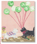 "CB-PL 12 Eulalie's Balloons 18 Mesh 8 x 10"" CBK Ciao Bella Designs"