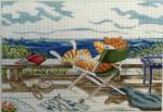 "CB-PL 06 My Summer Vacation - S/G 18 Mesh 11.5 x 8"" CBK Ciao Bella Designs"