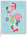 "CBK Designs by Karen DK-PL 36 Decorated Flamingo 13 Mesh  5 x 6.5"""