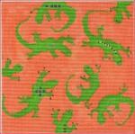 """CBK Designs by Karen DK-PL 21 Geckos 18 Mesh 6"""""""