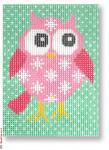 "CBK Designs by Karen DK-EX 22 Pink Owl 13 Mesh 3.75 x 5"""