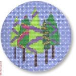 "CBK Designs by Karen DK-EX 20 Five Trees 13 Mesh 4"" Rnd"