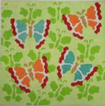 """CBK Designs by Karen DK-PL 07 Butterflies on Butterflies 13 Mesh 12"""""""