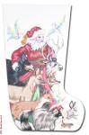 "CJ212 Santa with Animals 18 Mesh 20"""" CBK Eddie & Ginger"