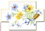 """DS108 Floral Brick Door Stop13 Mesh 13.5"""" x 9"""" CBK Eddie & Ginger"""