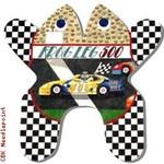 "M160 NASCAR Frog 18 Mesh 14.5 x 14.5"" CBK Eddie & Ginger"