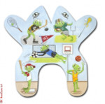 "M146 Boy Sports Frog 13 Mesh 15 x 14.5"" CBK Eddie & Ginger"