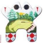"M132 Golf Frog 13 Mesh 14.5 x 14.5"" CBK Eddie & Ginger"