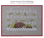 Filigram F-LCABCTH Lower Case ABC Tiny Hedgehog