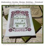 Filigram F-EN Embroidery Notebook