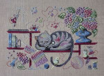 Filigram F-KC Knitting Cat