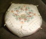 Heirloom Embroideries HE-PB Peachy Biscornu
