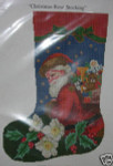 Ellen Maurer-Stroh Christmas Rose Stocking
