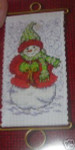 MH126302 Mill Hill Banding Kit Warm Wishes Snowlady