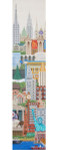 BP006 Trubey Designs BeLL PULL New York 39 x 8.5, 13G