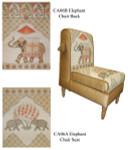 CA06B Back canvas only Elephant Trubey Designs