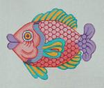 F001 Fish 1 7.5 x 9,13 Mesh Trubey Designs