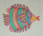 F002 Fish 2 7.5 x 9,13 Mesh Trubey Designs