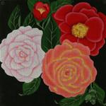 ED-1151 Dede's Needleworks Giant Camellia 14 x 14, 13g