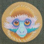 ED-1187C Dede's Needleworks Purple Monkey 4 x 4, 18g