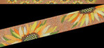 ED-1295 Dede's Needleworks Belt – Sunflowers with Copper Background 1 x 40, 18g