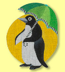 ED-1319C Dede's Needleworks Penguin Ornaments – Umbrella 5 x 5, 18g