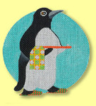 ED-1319D Dede's Needleworks Penguin Ornaments – Waiter 5 x 5, 18g