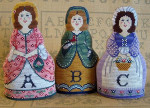 Alphabet Dolls 96 x 65 Needle's Notion, The YT