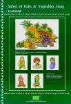 04-1686 Salver Of Fruits Gang PINN Stitch/Art & Technology Co. Ltd.
