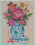 04-2788 Peony In Vase PINN Stitch/Art & Technology Co. Ltd.