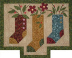 Prairie Grove Peddler Three Stockings (Quilt)