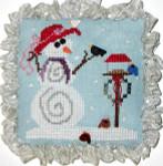13-2763  PRA-0133 Snow Pals  66w x 61h Praiseworthy Stitches YT