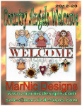 12-2791 Country Angels Welcome MarNic Designs