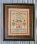 12-1147 Spring Is In The Air Sampler by Margaret & Margaret Inc. 87 x 110