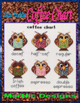 MarNic Designs Coffee Chart 106w x 106h
