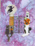 06-1617 Halloween By The Garden Gate by MarNic Designs