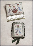 13-1646 Ann Blockley's Pin Keeps Pin Cushion: 87w x 63h, Pin Keep: 47w x 63h Milady's Needle