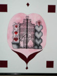 08-1367 Love By The Garden Gate by MarNic Designs