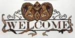 13-1745 Mardi Gras Welcome (Black & Gold) MarNic Designs